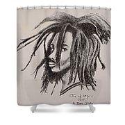 Tree Of Life Shower Curtain by Ikahl Beckford