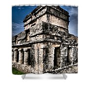 Tulum Ruinas 1 Shower Curtain by Skip Hunt