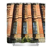 UC Berkeley . South Hall . Oldest Building At UC Berkeley . Built 1873 . 7D10111 Shower Curtain by Wingsdomain Art and Photography