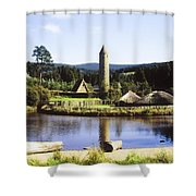Ulster History Park, Omagh, County Shower Curtain by The Irish Image Collection
