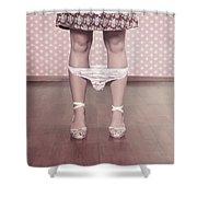 Underpants Shower Curtain by Joana Kruse