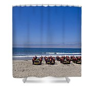 U.s. Navy Seal Candidates Participate Shower Curtain by Stocktrek Images