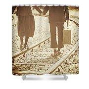 Vagabonds Shower Curtain by Joana Kruse
