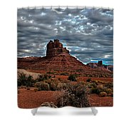 Valley Of The Gods II Shower Curtain by Robert Bales