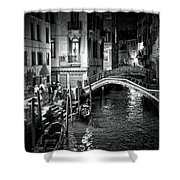 Venice Evening Shower Curtain by Madeline Ellis