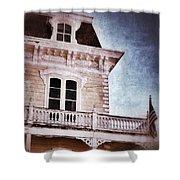 Victorian House Shower Curtain by Jill Battaglia