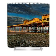 Victorian Pier Shower Curtain by Adrian Evans