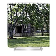 View Of Jones Law Offices Appomattox Virginia Shower Curtain by Teresa Mucha