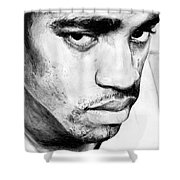 Vince Carter Shower Curtain by Tamir Barkan