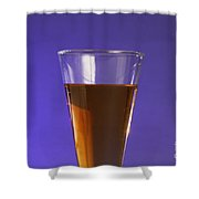 Vinegar & Baking Soda Experiment, 1 Or 3 Shower Curtain by Photo Researchers, Inc.