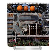 Vintage Harvest Shower Curtain by Kimberly Perry