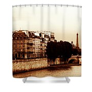 Vintage Paris 5 Shower Curtain by Andrew Fare