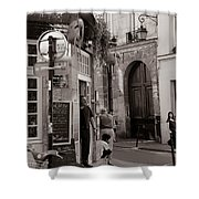 Vintage Paris1 Shower Curtain by Andrew Fare