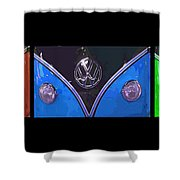 Vw Triptych 2 Shower Curtain by Cheryl Young