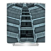 W Barcelona Shower Curtain by Juergen Weiss