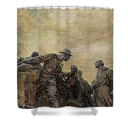 Wars Of America Shower Curtain by Paul Ward