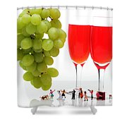 Wedding Ceremony Shower Curtain by Paul Ge