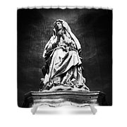 Weeping Madonna Shower Curtain by Gaspar Avila