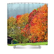 West Virginia Maples 2 Shower Curtain by Steve Harrington