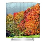 West Virginia Maples 2 Shower Curtain by Steve Harrington