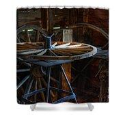 Wheeler Dealer Shower Curtain by Bob Christopher