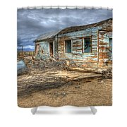 When Dreams End Shower Curtain by Bob Christopher