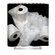 Where Is My Spare Roll HC V2 Shower Curtain by Andee Design