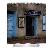 White Hall Tavern Shower Curtain by Ron Jones