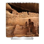 White House Ruin Canyon De Chelly Shower Curtain by Bob Christopher
