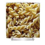 Wholemeal Pasta Shower Curtain by Frank Tschakert