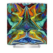 Wild Thing Shower Curtain by Stephen Anderson