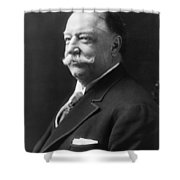 William Howard Taft - President Of The United States Of America Shower Curtain by International  Images
