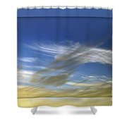 Windswept 2 Shower Curtain by Kaye Menner