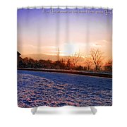 Winter Landscape Connecticut Usa Shower Curtain by Sabine Jacobs