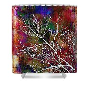 Winter Wishes Shower Curtain by Judi Bagwell