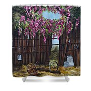 Wisteria Shower Curtain by Jan Holman