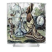 Womens Fashion, 1877 Shower Curtain by Granger
