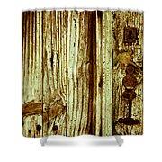 Wood Grain Shower Curtain by Georgia Fowler