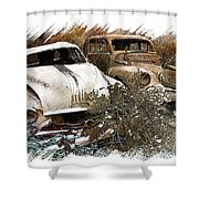 Wreck 3 Shower Curtain by Mauro Celotti