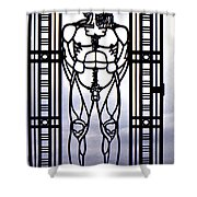 Wrought Iron Gate Shower Curtain by Steve Harrington