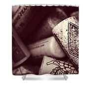 Years Of Cheers Shower Curtain by Trish Mistric
