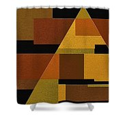 Zeal Shower Curtain by Ely Arsha