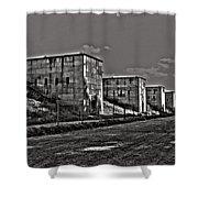 Zeppelin Field - Nuremberg Shower Curtain by Juergen Weiss