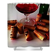 Zin Shower Curtain by Cheryl Young