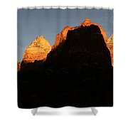 Zion The Great Wall Shower Curtain by Bob Christopher