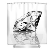 diamond Shower Curtain by Setsiri Silapasuwanchai