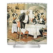 Populist Movement Shower Curtain by Granger