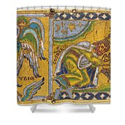 HERACLIUS (c575-641 A.D.) Shower Curtain by Granger
