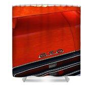 1969 Pontiac Gto The Judge Shower Curtain by Gordon Dean II