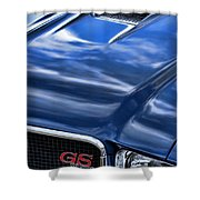 1970 Buick Gs 455  Shower Curtain by Gordon Dean II